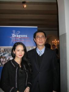 BaoBao & plaatsvervangend Chinees Ambassadeur