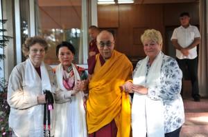 Ontmoeting Dalai Lama IPA Little Tibet reis